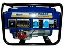 Бензиновый однофазный генератор Werk WPG 3000