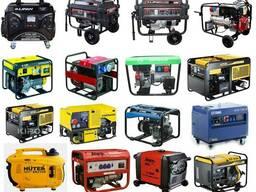 Бензиновые генераторы электростанции от 1 до 10 кВт и более