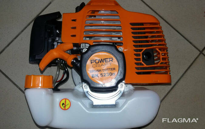 Бензокоса (мотокоса) Powercraft BK 5230 n + масло в подарок!