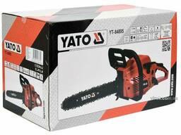 "Бензопила ланцюгова YATO 37.2 см³ 1.3 кВт шина- 14"" (33 см)"