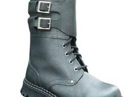 Ботинки с высокими берцами утепленные для охранника