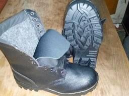 Берцы утепленные, ботинки рабочие зимние