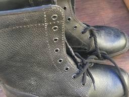 Берцы, высокие полусапоги мужские, рабочая обувь