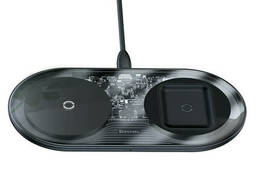 Беспроводная зарядка Qi Baseus Simple 2in1 Wireless. ..