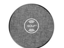 Беспроводная зарядка Qi Golf GF-WQ4 |1. 5A, 10W|. Grey