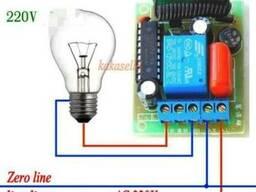 Беспроводной 1 канальный пульт дистанционного управления 220