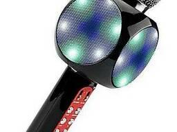 Беспроводной микрофон караоке с динамиком и цветомузыкой Wster Ws-1816