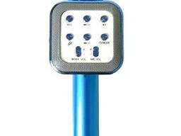 Беспроводной микрофон караоке Wster WS 1818, голубой