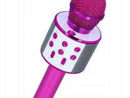 Беспроводной микрофон-караоке Wster WS-858 Pink (12707)