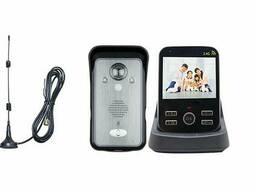 """Беспроводной видеодомофон с датчиком движения, 3,5"""" дюймовым монитором Kivos KDB302A . .."""