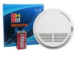 Беспроводный датчик дыма 433 Mhz для пожарной, охранной GSM