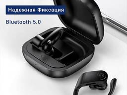 Беспроводные Bluetooth Наушники — для Тренировок — Премиум класса — с Микрофоном
