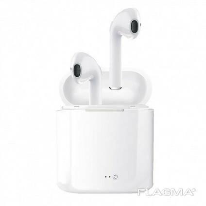 Беспроводные Bluetooth наушники I7S Pro Белые SKL25-223342