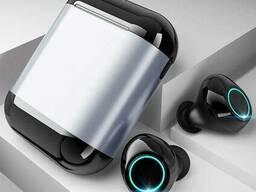 Беспроводные bluetooth наушники Tomkas S7-TWS, серебристый бокс
