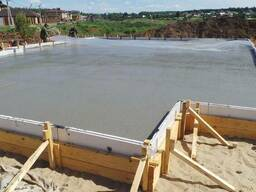 Бетонирование фундаментов в Одессе