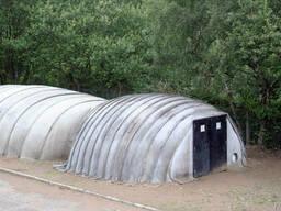 Бетонная палатка Concrete Canvas Shelter (CCS)
