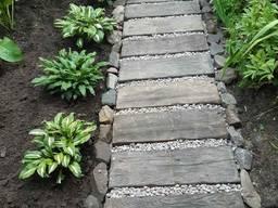 Бетонная плитка для дорожек, для сада