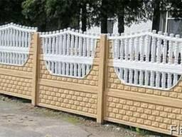 Бетонний забор