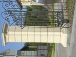 Бетонный забор - фото 2