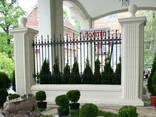Бетонный забор - фото 5