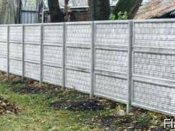 Бетонный забор,цена,фото