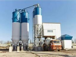 Бетонный завод (БСУ) СБ-241Б производительность 60 м³/ч