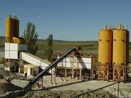 Бетонный завод СБ-145-4 производительность БСУ 60 м³/ч