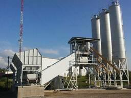 Бетонный завод СБ-251М производительность 100 м³/ч