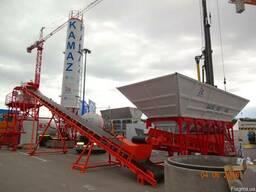 Бетонный завод СБ-760 Базальт-60 производительность 60 м³/ч
