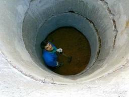 Бетонные кольца, выгребная яма, сливная яма, септик
