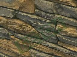 Бетонные плиты еврозабора под натуральный камень.