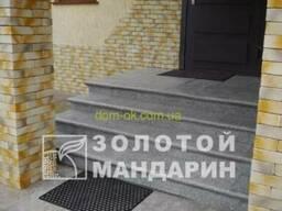 Бетонные ступени Золотой Мандарин- Ступень большая - цвет. ..