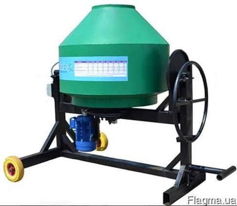 Бетономешалка электрическая Скиф БСМ-500 проффесиональная
