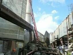 Бетононасос Stetter на шасси Краз, мощностью 65 куб. м. /час