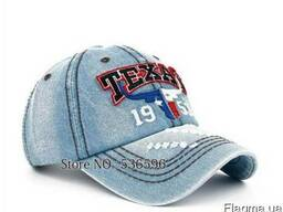 Бейсболка джинсовая с логотипом Texas купить в украине