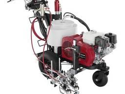Безвоздушная гидропоршневая разметочная машина Titan. ..