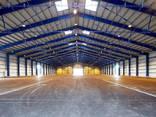 Безвоздушная покраска Ангара Паркинга Заправки СТО Стоянки - фото 4