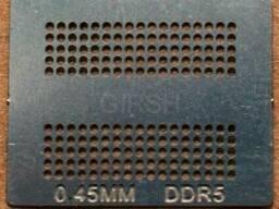 BGA трафарет 0,45 mm DDR5