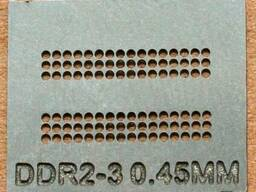 BGA трафарет 0,45mm DDR2-3