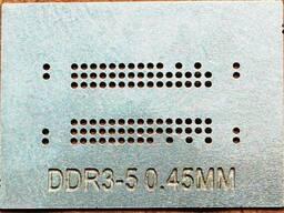 BGA трафарет 0,45mm DDR3-5
