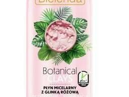 Bielenda Ботанические Глины веганская мицеллярная жидкость с розовой глиной 500 мл