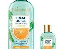 Bielenda Fresh Juice Увлажняющая мицеллярная жидкость, Апельсин 100 мл