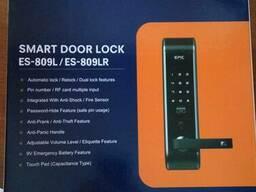 Биометрический, сенсорный, кодовый дверной замок EPIC ES-809