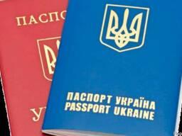 Биометрический загранпаспорт Украины быстро