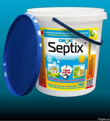Биопрепарат Septix для очистки выгребных ям, 8 пакетов, 400