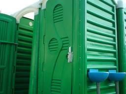 Биотуалет (Дачная кабина пустая)