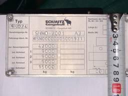 Бирка металлическая на полуприцеп Schmitz (Шмитц) за 1 час