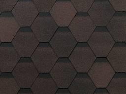 Битумная черепица Шинглас Shinglas Оптима коричневый