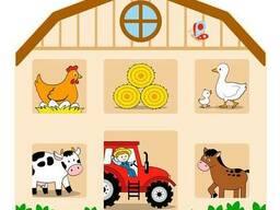 Бизиборд Viga Toys Домик на ферме (51627)