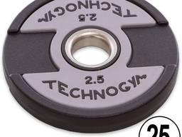 Блины Technogym 1. 25, 2. 5, 5, 10, 15, 20, 25 кг